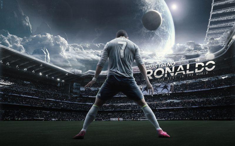 Hình Ronaldo - Vóc dàng điển trai và hào hùng hút hồn fan