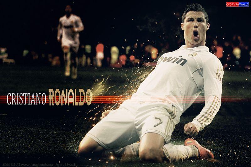 Khoảnh khắc cực hiếm gặp của Ronaldo