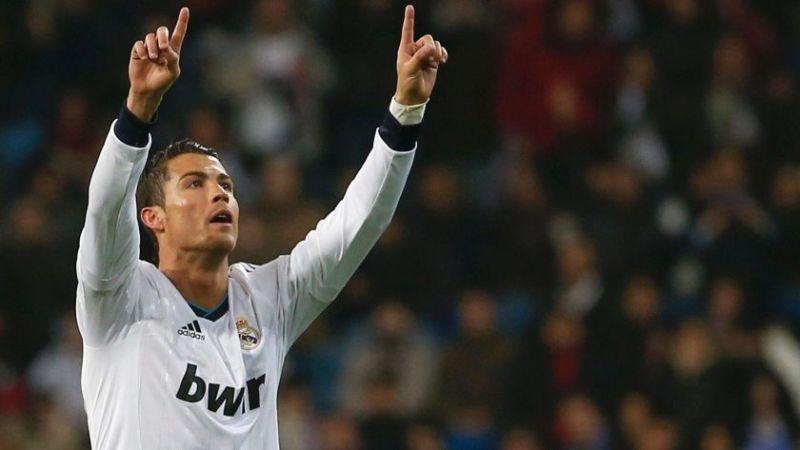 Dáng vẻ ăn mừng chiến thắng của Ronaldo