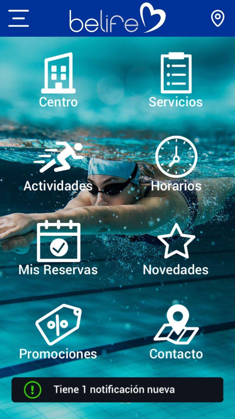 App tập gym Belife
