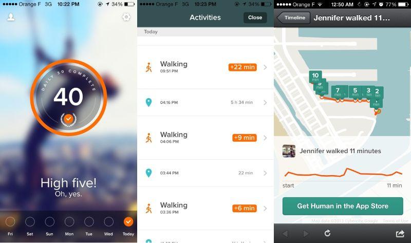 App tập thể dục tốt Google Fit