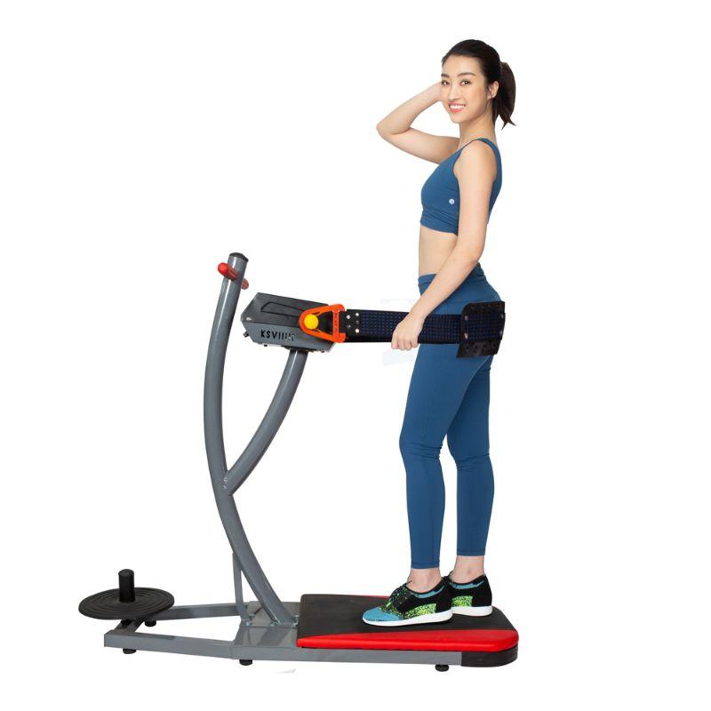 Máy tập gym giảm mỡ bụng rung massage toàn thân
