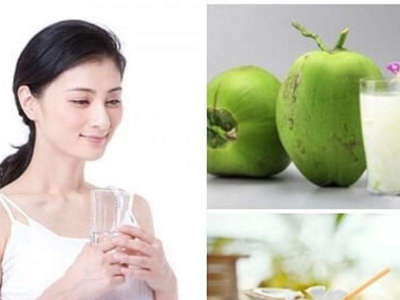 Nước dừa cung cấp nước cho người tập