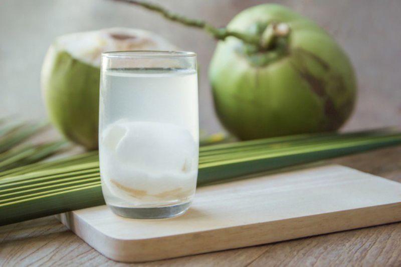 Nước dừa không làm tăng cân