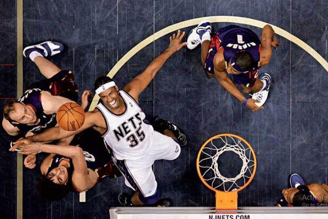 Rebound - kỹ thuật chơi bóng rổ chuyên nghiệp