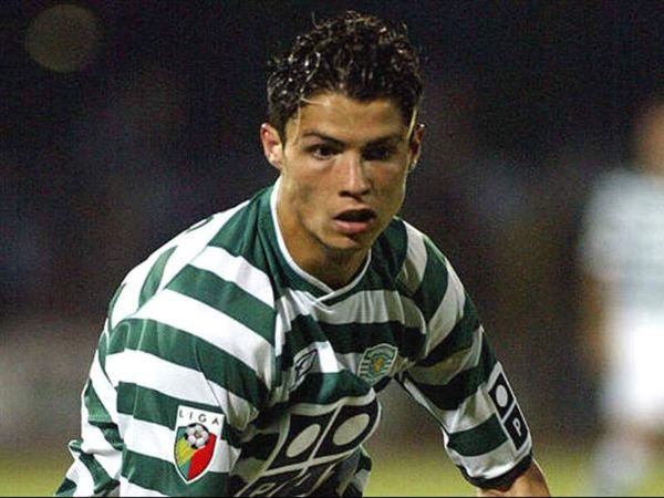 Ronaldo gia nhập Sporting Lisbon
