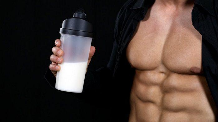 Tập gym có nên uống sữa đậu nành?