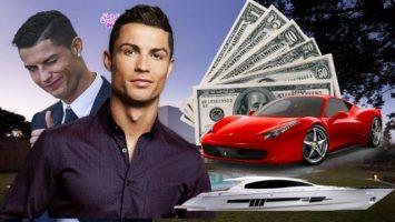 Tổng tài sản của Ronaldo mới nhất