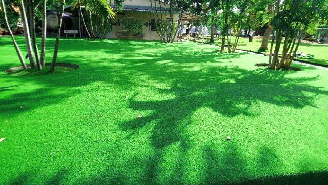 Đảm bảo diều kiện để thi công sân cỏ nhân tạo tốt nhất