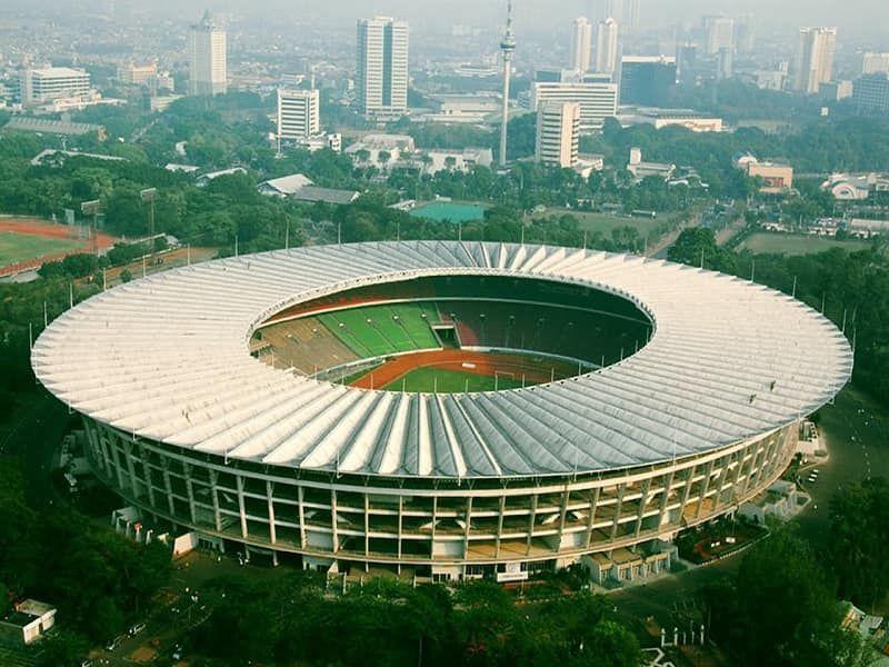Sân vận động đẹp nhất Đông Nam Á - Gelora Bung Karno