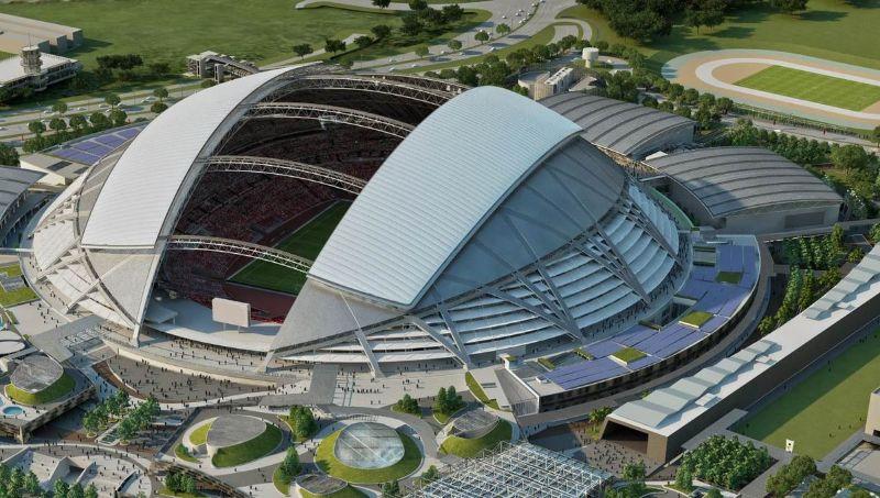 Chiêm ngưỡng top 7 sân vận động đẹp nhất Đông Nam Á